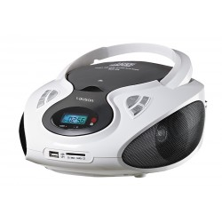 Combo cd/mp3 + radio am/fm blanco