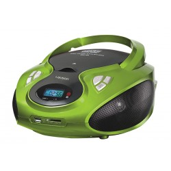 Combo cd/mp3 + radio am/fm verde