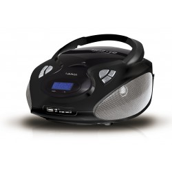 Combo cd/mp3 + radio am/fm negro