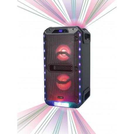 Altavoz Activo Portátil con Luces LED y Lasers
