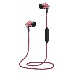 Auriculares Bluetooth con Imán Rosa