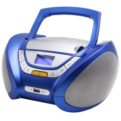 Combo con Efectos Luces CD/MP3 + Radio AM/FM y Bluetooth Blanco