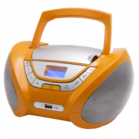 Modern Combo CD/MP3 + Radio FM Digital Naranja