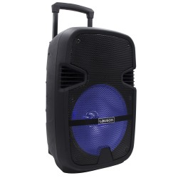 SS305 -  Trolley Active Speaker  Bluetooth and Multicolored Lights Black