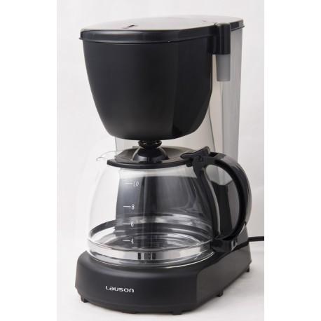 Cafetera a Goteo para 12 tazas de café, 1.25L, 870W, Negro