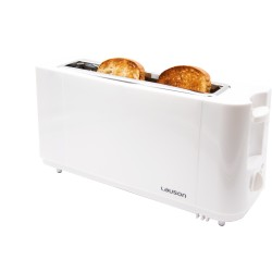 Toaster 1 long slice, 900W, 1 slot, Toasting control, Removable tray, Anti-slip and cold touch, Anti-jam, White