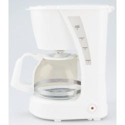 Cafetera por Goteo para 6 tazas de café, 0,625L, 600W, Blanco
