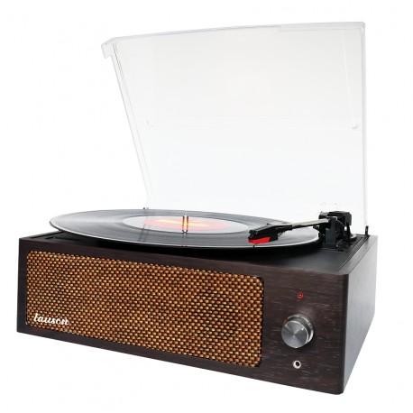 Tocadiscos Vintage con Encoding PC y Altavoz Potente