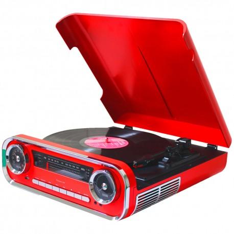 Tocadiscos Vintage con Encoding Bluetooth