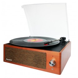 XN092 - Vintage Turntable with PC Encoding Oak