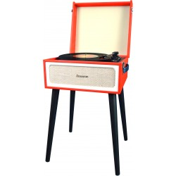 YT078 - Furniture turntable with Encoding PC Link and Bluetooth Red