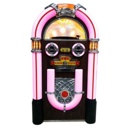 Jukebox con vinilo grabador