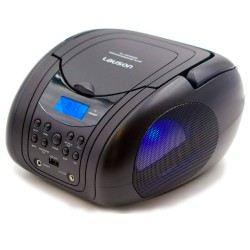 Radio CD/MP3 con Radio FM PLL Negro