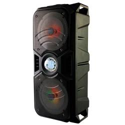 LLX33 - Altavoz Activo Portátil con Luces y Efecto Disco Negro