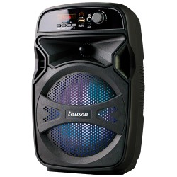 LLX34 - Portable Speaker with Lights Black