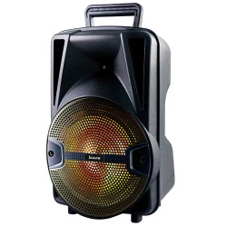 LLX35 - Portable Speaker with Lights Black