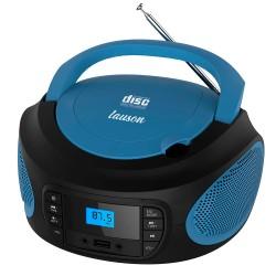 LLB993 - Boombox Radio/CD con luces azul