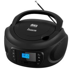 LLB994 - Boombox Radio/CD con luces Negro
