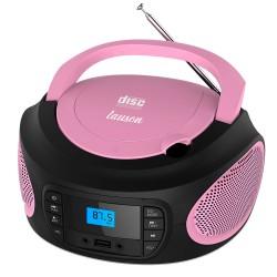 LLB995 - Boombox Radio/CD con luces Negro
