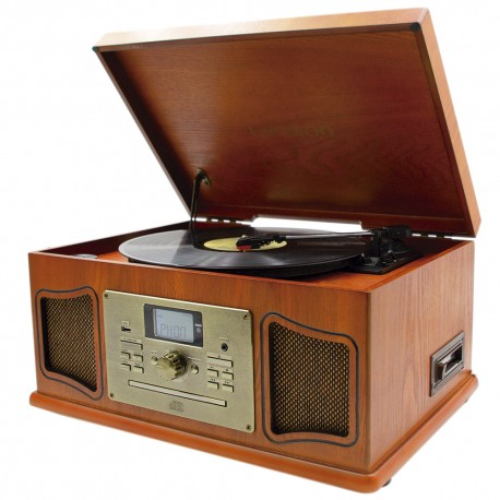 XVI11 - Classic Premium Wood Record Player